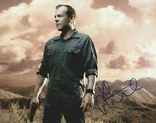 KIEFER SUTHERLAND Hand Signed Original 8x10 Autograph Photo 24 JACK BAUER