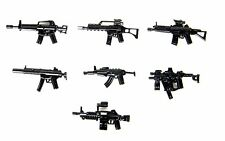 Weapons Pack V2 Custom Guns Army (P17) Compatible with toy brick minifigures