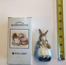 Royal Doulton, Royal Albert- Mrs. Rabbit & Bunnies