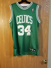 Vintage Boston Celtics Paul Pierce Adidas Sewn Jersey Size 52 EUC