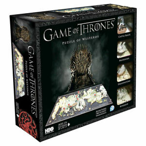 Game of Thrones: Westeros 1400+pc 3D Jigsaw Puzzle