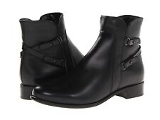$395 size 7.5 La Canadienne Sharon Leather Fashion Ankle Boots Womens shoe NEW