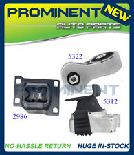 Motor Mounts M104 3 PCS Replacement For 2008-2011 Ford Focus 2.0L AT & MT