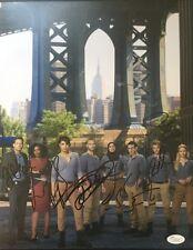 Autographed Quantico cast signed 11x14 w/JSA Priyanka Chopra Johanna Braddy
