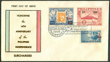 1960 Honoring The 14th Anniversary of the Philippine Independence FDC - B