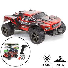 RC Monster Truck Crawler 20KM/h Elektro 2.4GHz Ferngesteuert Auto Spielzeug +1 A