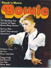 Más souvenirs de David Bowie