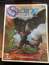 SLAINE THE HORNED GOD VOLUMES # 2 And 3 1991 SOFTCOVER TPB SIMON BISLEY