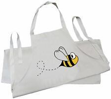 Bumble Bee - Natural (Cream) Cotton Drill Child's Apron