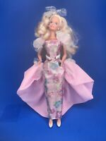 Vtg 1966 Mattel Barbie W/ Outfit Twist N' Turn China Blonde Blue Eyes Pink Lips