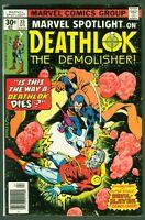 Marvel Spotlight #33 FINE Marvel 1977 Deathlok 1st Appearance of Devil-Slayer