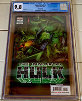 IMMORTAL HULK #2 CGC 9.8 4TH PRINT 1ST DELL FRYE COVER APP 1ST DR. FRYE (2019)