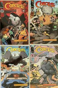 Concrete set:#1-4 8.5 VF+ (1994)