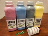 4 Toner Refill (USA only) for Xerox VersaLink C600, C605 + 4 Chip (3903 ~ 3900)
