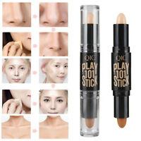 Face Eye Foundation Concealer Highlight Contour Pen Stick Makeup Cream NEW