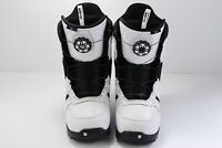Burton Jet Men's White Ratcheting Speed Dial Snowboard Boots Sz 10 US 43 EUR