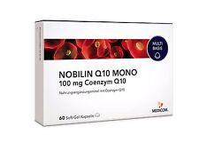 Medicom Nobilin Q10 Mono 60 Kapseln Coenzym Anti-Aging Energie (0,42€/Kapsel)