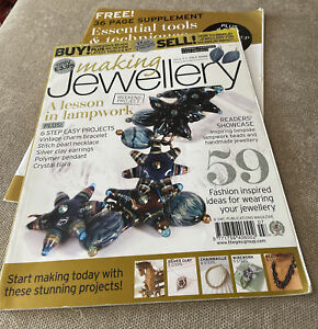Making Jewellery Magazine With Free Tools And Techniques Book Issue 4  July 2009