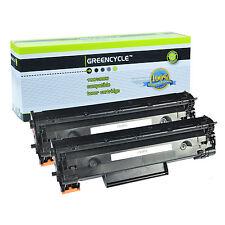 2PK CE285A 85A Toner Cartridge For HP 85A Laserjet Pro M1214nfh P1102w Printer