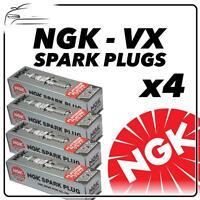 4x NGK SPARK PLUGS Part Number DR8EVX Stock No. 6354 New Genuine NGK SPARKPLUGS