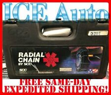 SCC Radial Cable Tire Snow Chains CH2111T *MADE IN USA!*
