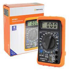 Digital Multimeter Circuit Tester Multi Testing Meter Test Volts Amps Continuity