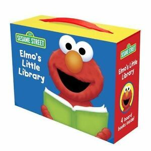 Elmo's Little Library (Board Book)