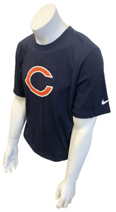 Nike Men's Chicago Bears Julius Peppers #90 Navy NFL Football Shirt Size Large