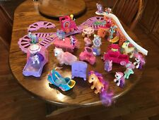 My Little Pony  Friendship Express Motorized Train Set 33 pieces lots of extras!