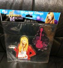 Hannah Montana Miley Cyrus Locker Clings, Red Jacket, MISP!  New!