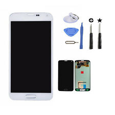 New White LCD Touch Digitizer for Samsung Galaxy S5 G900 Screen replacement+tool