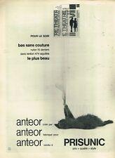 C- Publicité Advertising 1958 Les Bas Collants Prisunic ... Chat