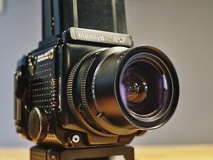 Mamiya RZ67 Pro Medium Format Camera + 65mm + 140mm Lens 120 Film Back Winder II