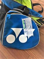 NEW YONEX BADMINTON TENNIS PRO TOURNAMENT RACKET BAG BLUE COLOUR