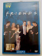DVD Film Friends Le grandi serie Tv Sorrisi e Canzoni Stagione 8 Episodi 1-6