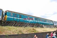PHOTO  BR MKIIF DBRAKE STANDARD OPEN NO 9711 IN ANGLIA LIVERY AT TYSELEY LOCOMOT