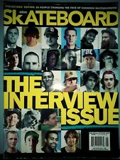 Skateboard Magazine the interview issue 2008 E076