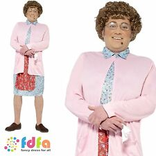 MRS BROWNS BOYS OLD GRANNY TV COMEDY ADULT - mens fancy dress costume