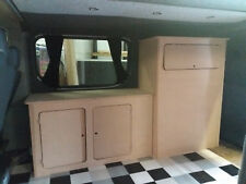 MDF Camper Campervan Interior Kitchen Cupboard For Sink Hob VW Vivaro Transit