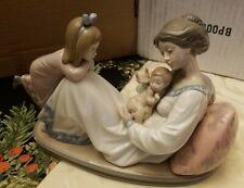 """Lladro mother with children figurine 10"""" x 6"""""""