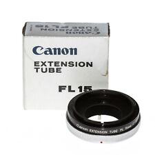 Canon Extension Tube / Zwischenring FL 15 für Canon FD mit OVP vom Händler