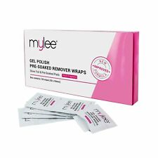 Mylee Professional Salon Gel Polish Remover Pre-Soaked Acetone Pads and Foil ...