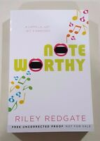 Note Worthy by Riley Redgate 2017 ARC paperback