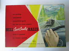 Bell Cross country rally game.vintage toys. vintage games automobilia.