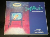 Genesis - Jesus He Knows Me - 3 Tracks - CD Single - 1992 - Digipak
