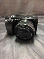 Sony Alpha α6000 24.3MP Digital SLR Camera - Black (E PZ 16-50mm f/3.5 lens)