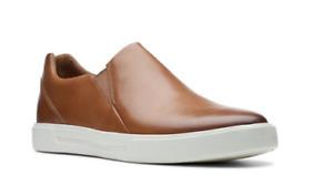 Clarks Men's Un Costa Step Size 7.5 M Tan Leather, NEW