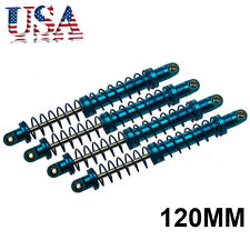 4x 120mm Alu. Shock Absorber Damper Springs for RC Ccrawlers CC01 D90 SCX10 US