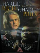 In Concert  by Charley Pride  Charlie Rich NEW! DVD, CONCERT 1975  COUNTRY MUSIC