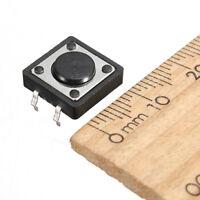 10pcs Qualitaet Mini-PCB momentanen taktile Druckschalter Schliesser SPST H6Z R9